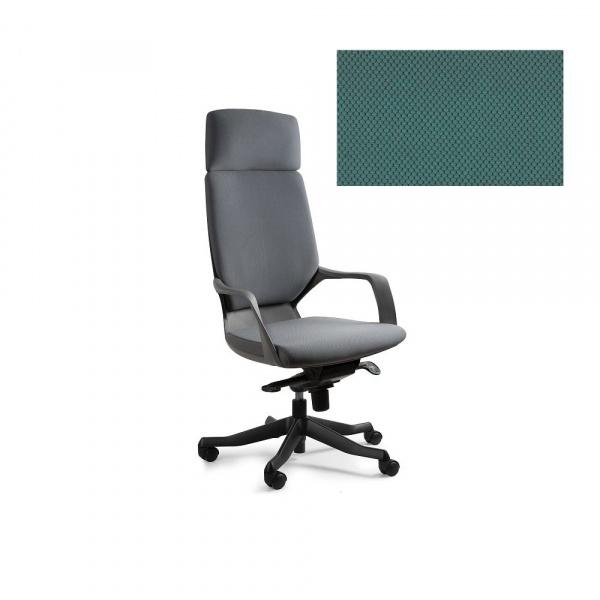 Fotel biurowy Apollo Unique tealblue W-909B-BL413