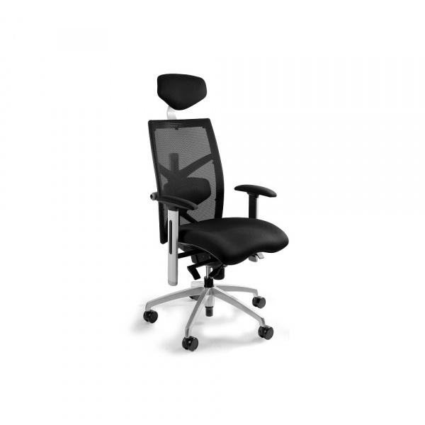 Fotel biurowy Exact Unique czarny W-099Y-BL418-4