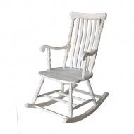 Fotel bujany 53x50x103cm Miloo Home East Hampton biały