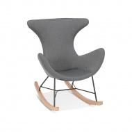 Fotel bujany Kokoon Design Ibis szary