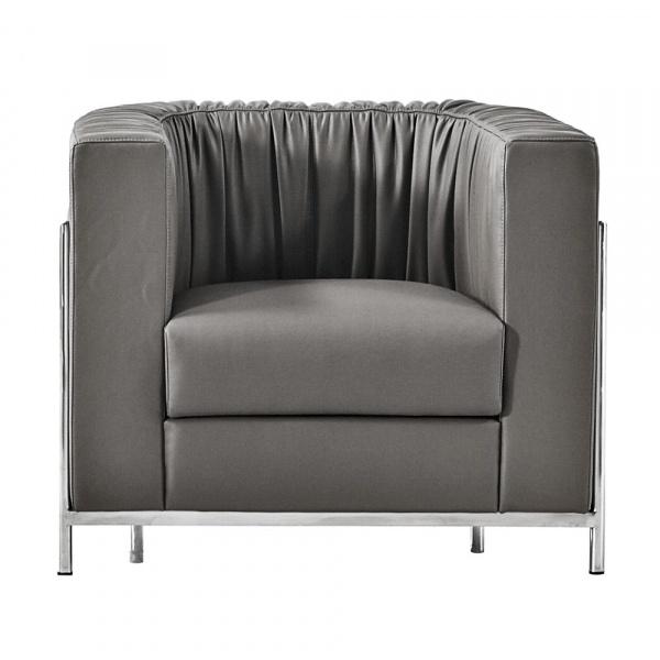 Fotel D2 Balza czarna skóra DK-65512