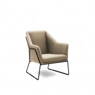 Fotel Dakota : Kolor - beżowy