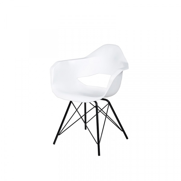 Fotel King Bath Gular DSM biały mat ICE-035.DSM.BIALY