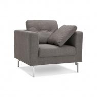 Fotel Kokoon Design Abba Mini ciemnoszary