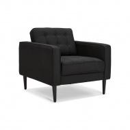 Fotel Kokoon Design Cecil Mini Czarny