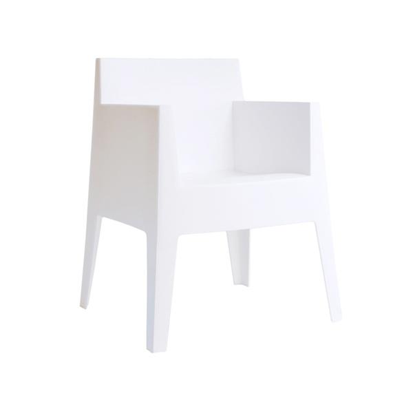 Fotel Kubik Box białe 5902385710268