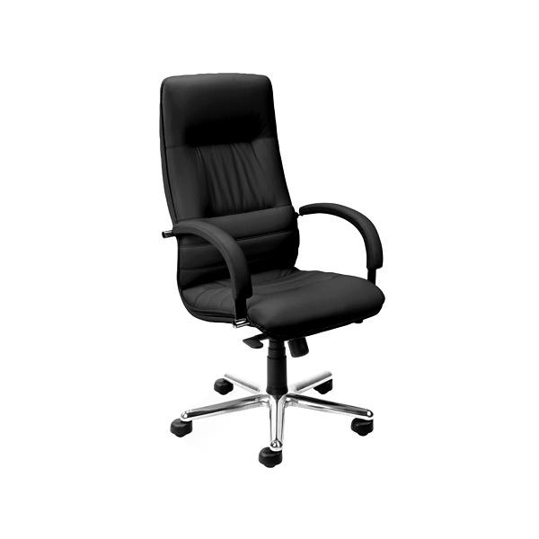 Fotel Linea Steel Chrome (multiblock) SD-01 czarny LI-S-CH-M-SD-01