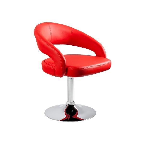 Fotel obrotowy UNIQUE Stilo czerwony 2-26A-2