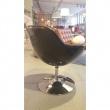 Fotel Pezzo pikowany K- czarny, S-czarne 5902385710930