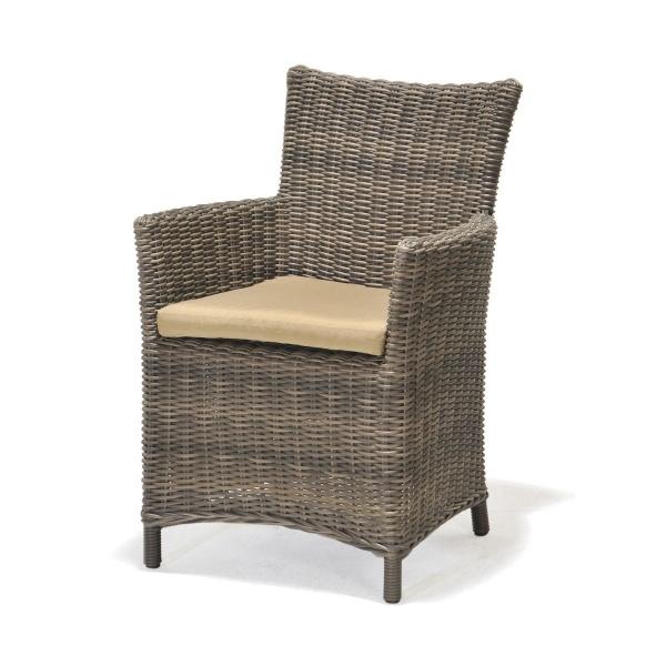 Fotel z poduszką D2 Kolanta PDA szary 5705820282272