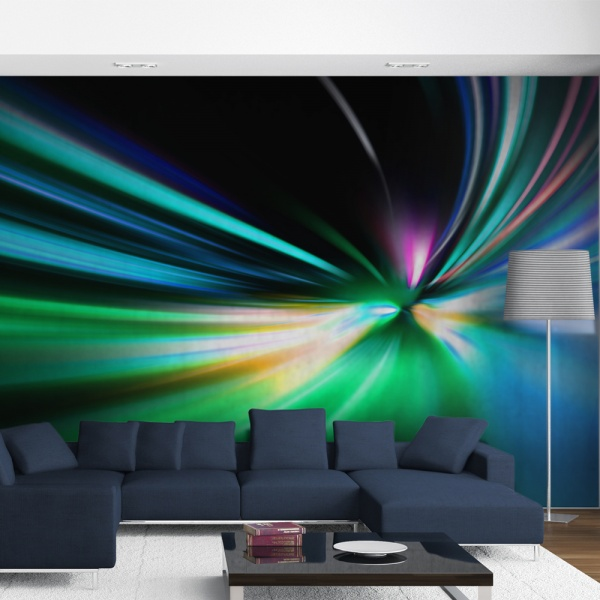 Fototapeta - Abstract design - speed (550x270 cm) A0-F5TNT0002-P