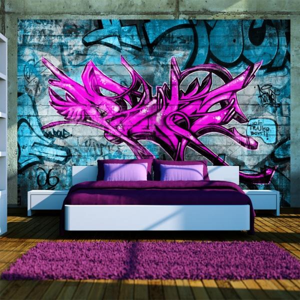 Fototapeta - Anonymous graffiti (300x210 cm) A0-XXLNEW010111