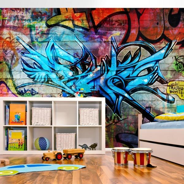Fototapeta - Art crime (300x210 cm) A0-XXLNEW010110