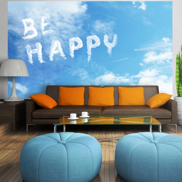 Fototapeta - Be happy (300x210 cm) A0-XXLNEW010339