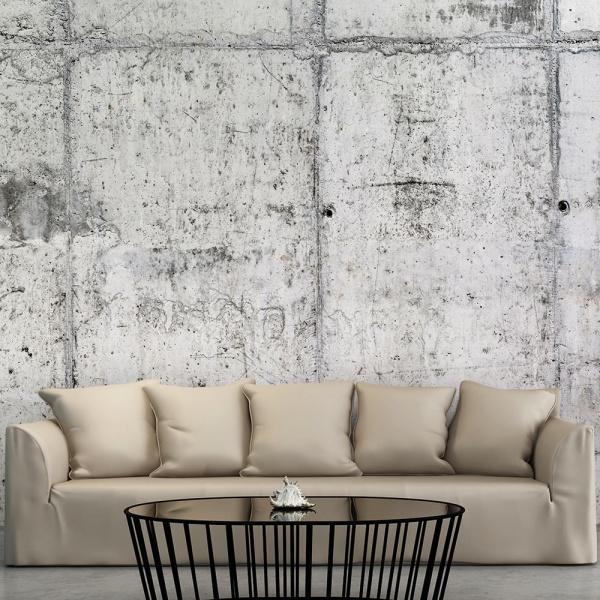Fototapeta - Betonowa ściana (300x210 cm) A0-XXLNEW011489