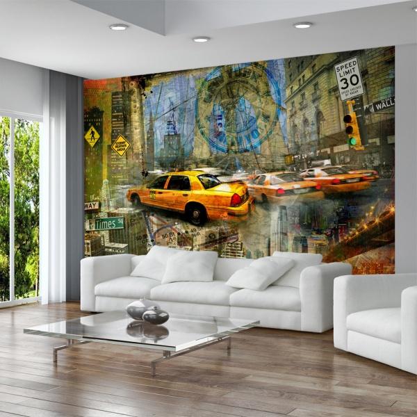 Fototapeta - Bezkresny Nowy Jork (300x210 cm) A0-XXLNEW010133