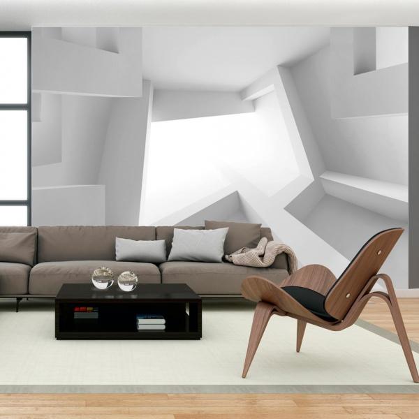 Fototapeta - Biały pokój (300x210 cm) A0-XXLNEW010911