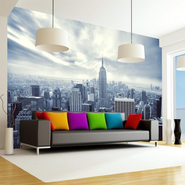Fototapeta - Blue York (300x210 cm) A0-XXLNEW010104