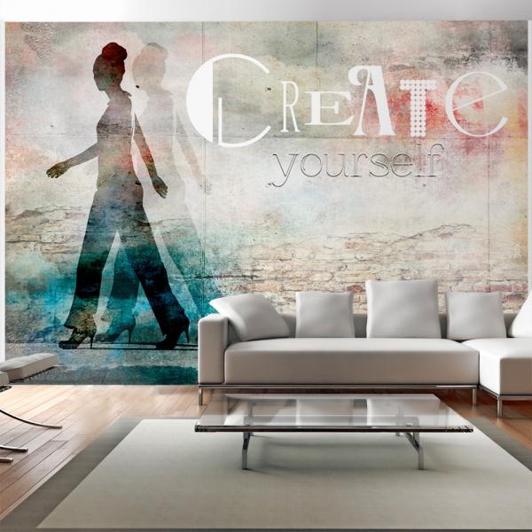 Fototapeta - Create yourself (300x210 cm) A0-XXLNEW010379