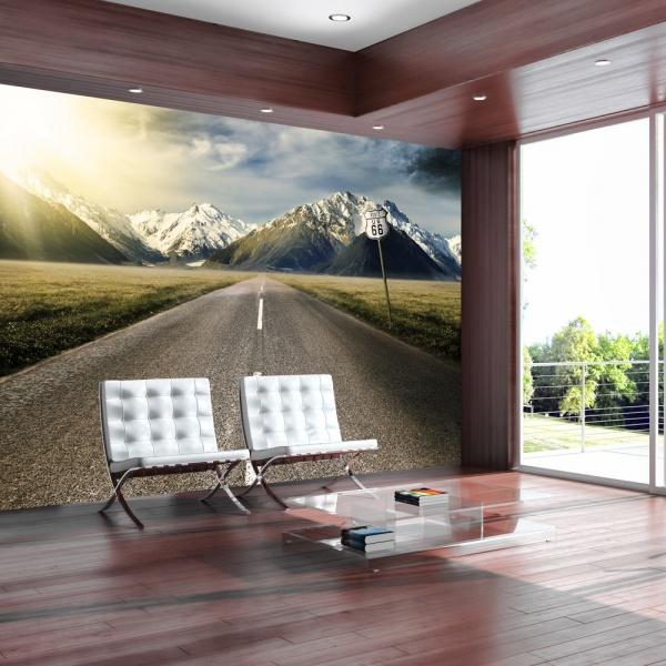 Fototapeta - Długa droga (300x210 cm) A0-XXLNEW010790