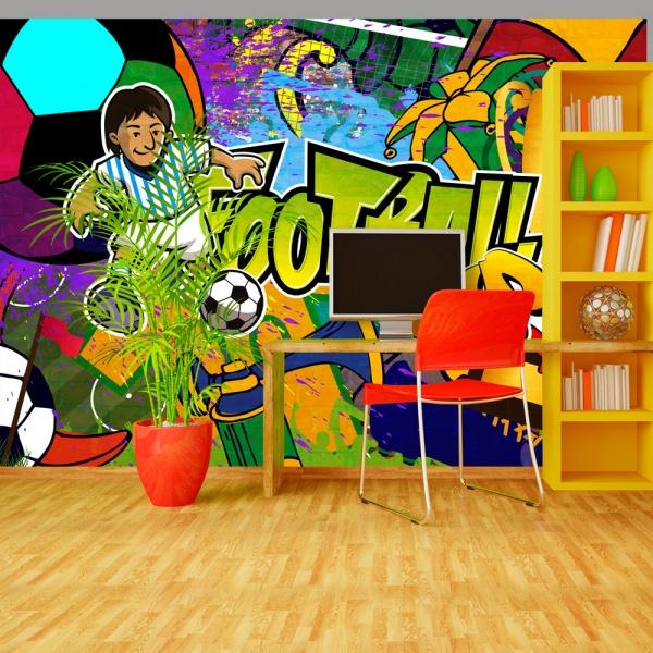 Fototapeta - Football Cup (300x210 cm) A0-XXLNEW010278