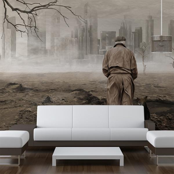 Fototapeta - Ghost's city (450x270 cm) A0-F4TNT0142-P
