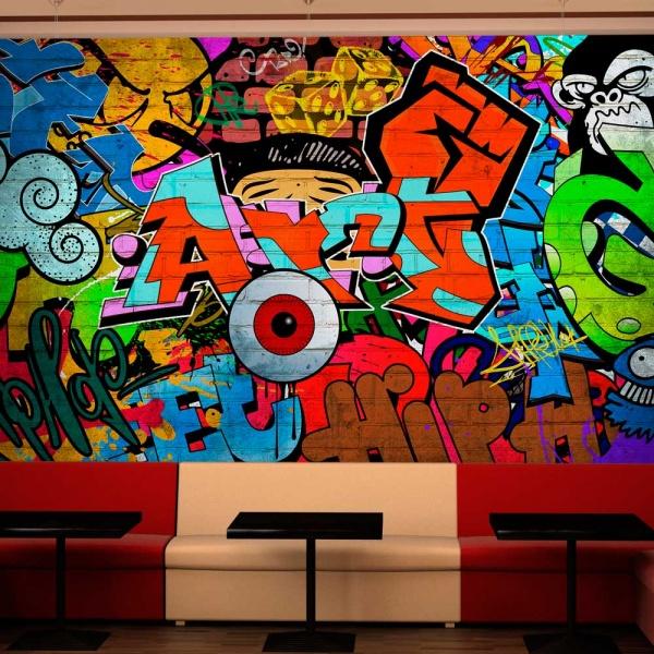 Fototapeta - Graffiti art (300x210 cm) A0-XXLNEW010142