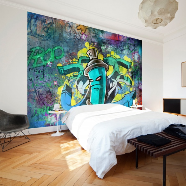 Fototapeta - Graffiti maker (300x210 cm) A0-XXLNEW010108