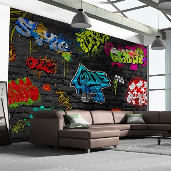 Fototapeta - Graffiti wall (300x210 cm) A0-XXLNEW010285