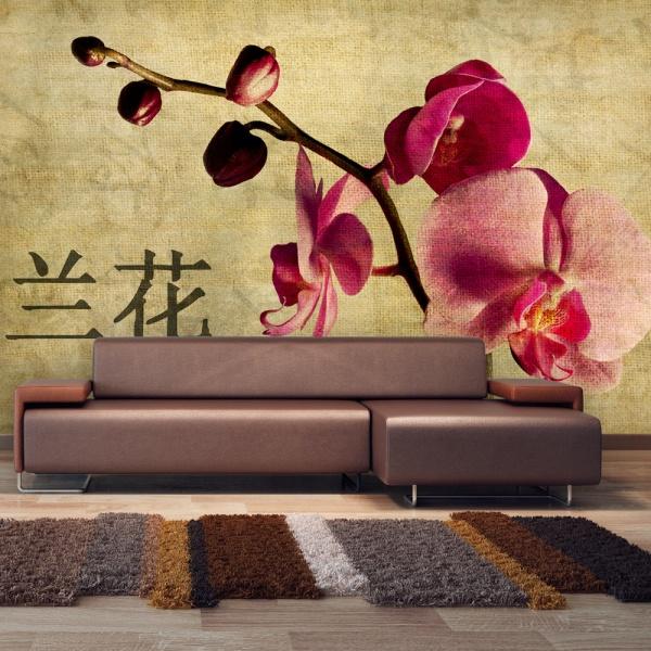 Fototapeta - Japanese orchid (450x270 cm) A0-F4TNT0075-P
