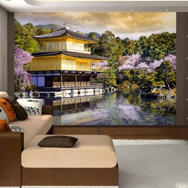 Fototapeta - Japoński krajobraz (300x210 cm) A0-XXLNEW010568
