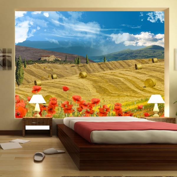Fototapeta - Jesienny krajobraz (300x210 cm) A0-XXLNEW010201