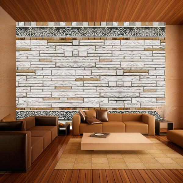 Fototapeta - Kamienna mozaika (300x210 cm) A0-XXLNEW010656