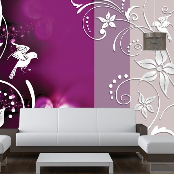 Fototapeta - Kwiatowa fantazja (300x210 cm) A0-XXLNEW010181
