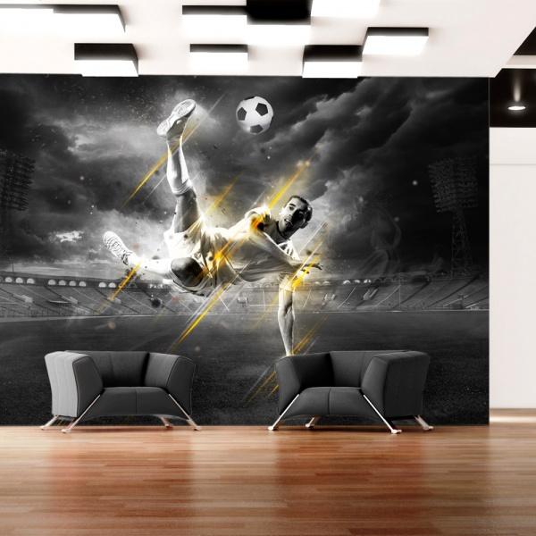 Fototapeta - Legenda futbolu (300x210 cm) A0-XXLNEW010261