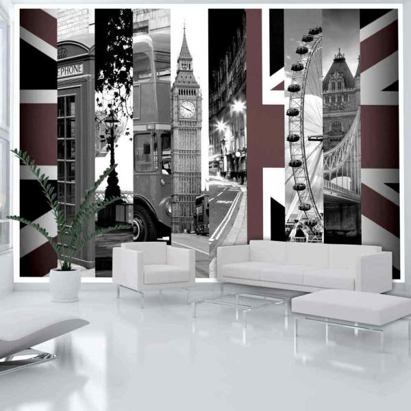 Fototapeta - Londyńskie symbole (300x210 cm) A0-XXLNEW010231