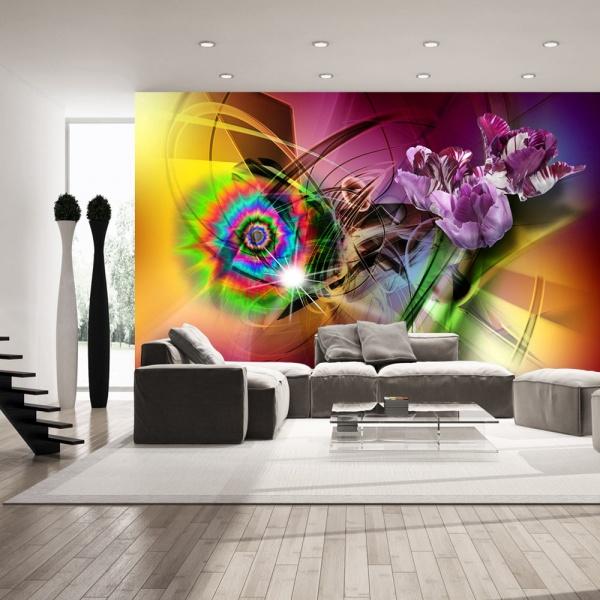 Fototapeta - Magiczne światło kolorów (300x210 cm) A0-XXLNEW011563