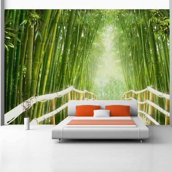 Fototapeta - Magiczny świat zieleni (300x210 cm) A0-XXLNEW010250