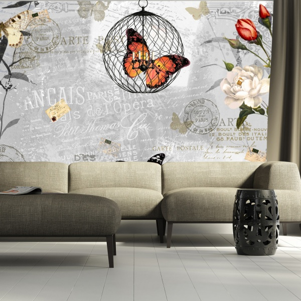 Fototapeta - Motyli śpiew (300x210 cm) A0-XXLNEW010216