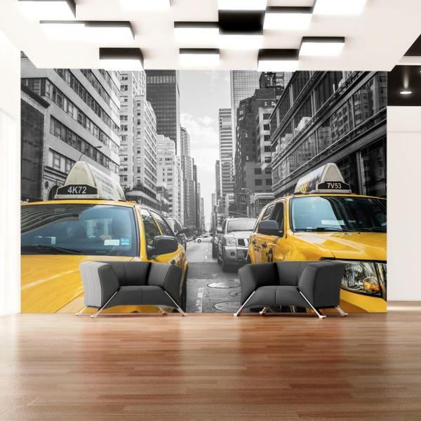 Fototapeta - New York taxi (300x210 cm) A0-XXLNEW010401