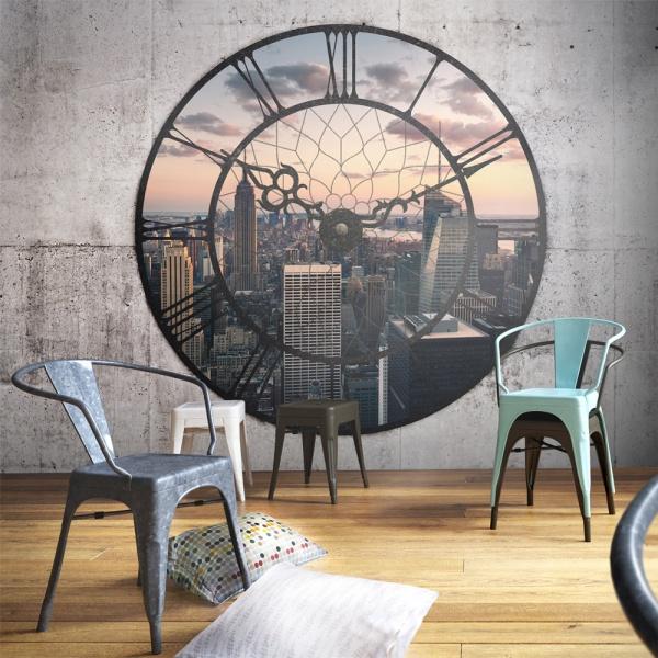 Fototapeta - NYC Time Zone (450x270 cm) A0-F4TNT0543