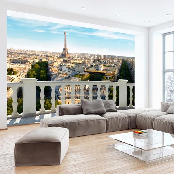 Fototapeta - Paryż w południe (300x210 cm) A0-XXLNEW010412