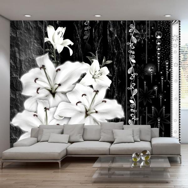 Fototapeta - Płaczące lilie (300x210 cm) A0-XXLNEW010388