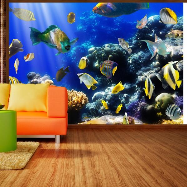 Fototapeta - Podwodna przygoda (300x210 cm) A0-XXLNEW010257