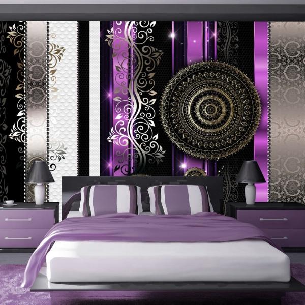 Fototapeta - Purpurowa harmonia rozpaczy (300x210 cm) A0-XXLNEW010416