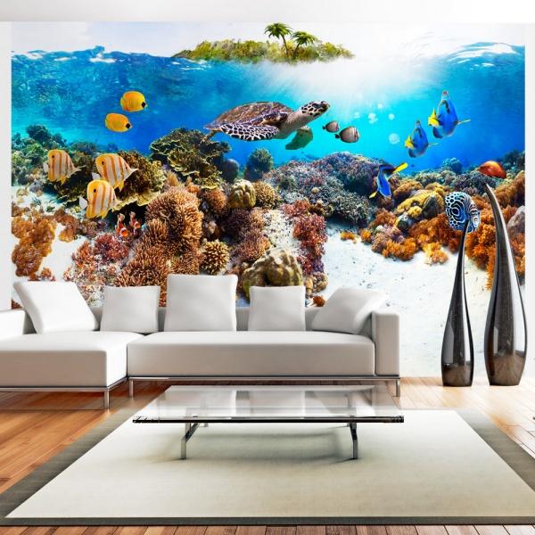 Fototapeta - Rafa koralowa (300x210 cm) A0-XXLNEW010549