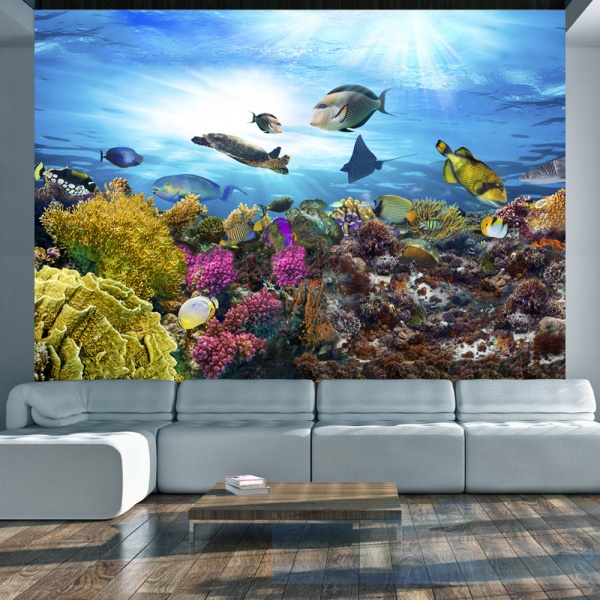 Fototapeta - Rafa koralowa (300x210 cm) A0-XXLNEW011383