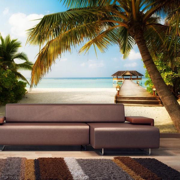 Fototapeta - Rajska plaża (300x210 cm) A0-XXLNEW011265