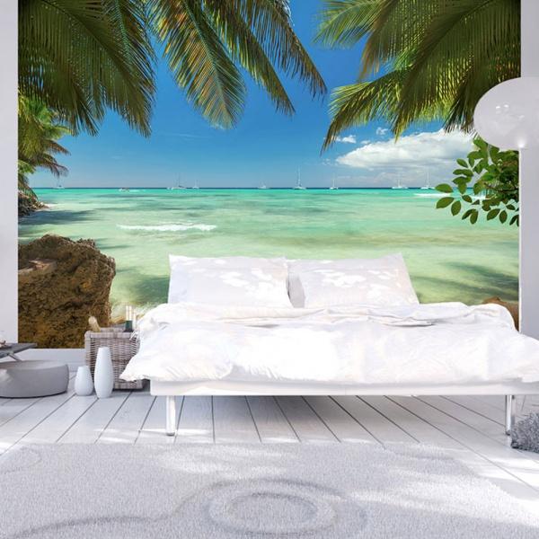 Fototapeta - Relaks na plaży (300x210 cm) A0-XXLNEW011176