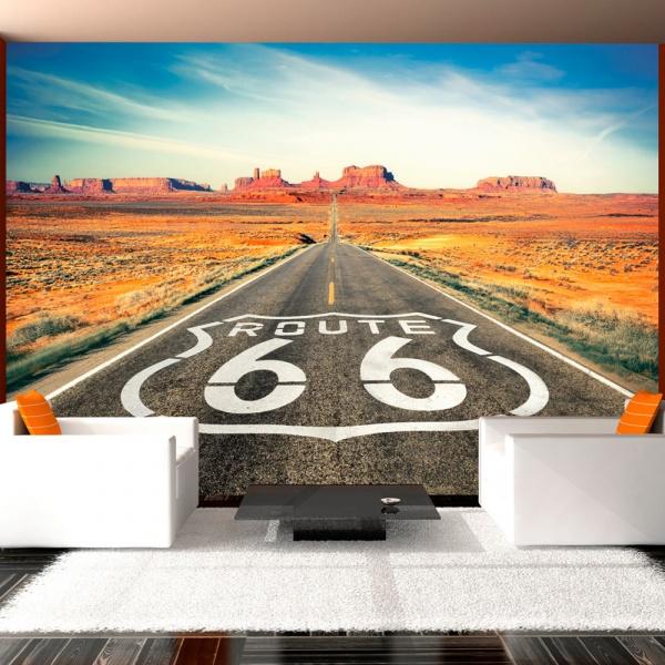 Fototapeta - Route 66 (300x210 cm) A0-XXLNEW010507